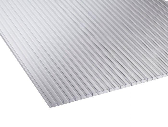 Ariel Corotherm Clear Twinwall Sheet 1220Mm X 610Mm X 4Mm