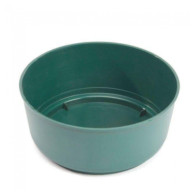 Oasis Green Bulb Bowl 24 X 9Cm