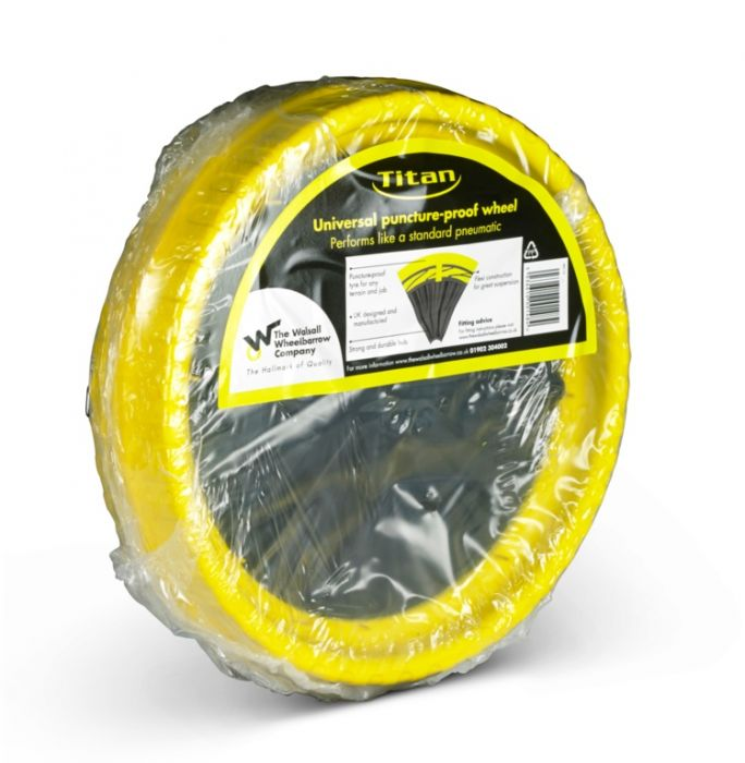 Walsall Universal Puncture Proof Wheel 35Cm