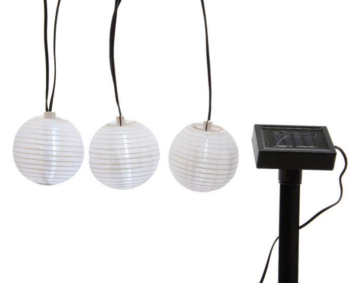 Lumineo Led Chinese Lantern String 3.5Cm Cool White