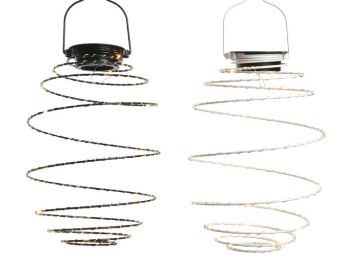 Lumineo Led Solar Metal Wire Warm White 25 Light 16Cm