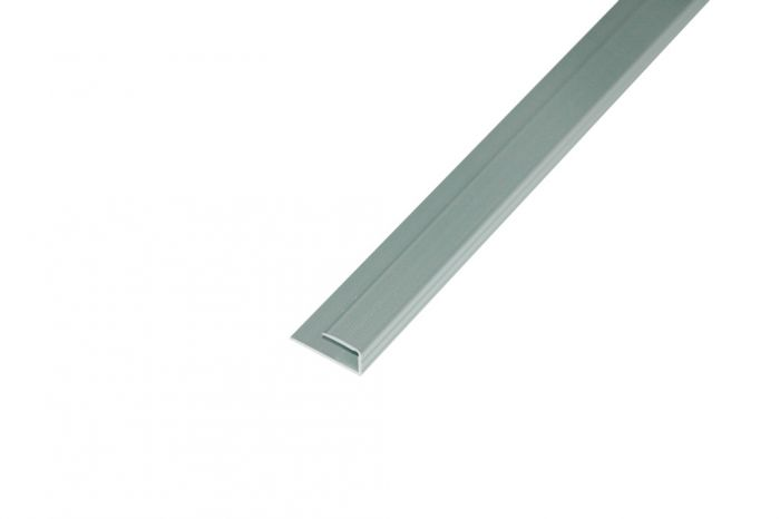 Unika Aluminium End Profile 900Mm Silver