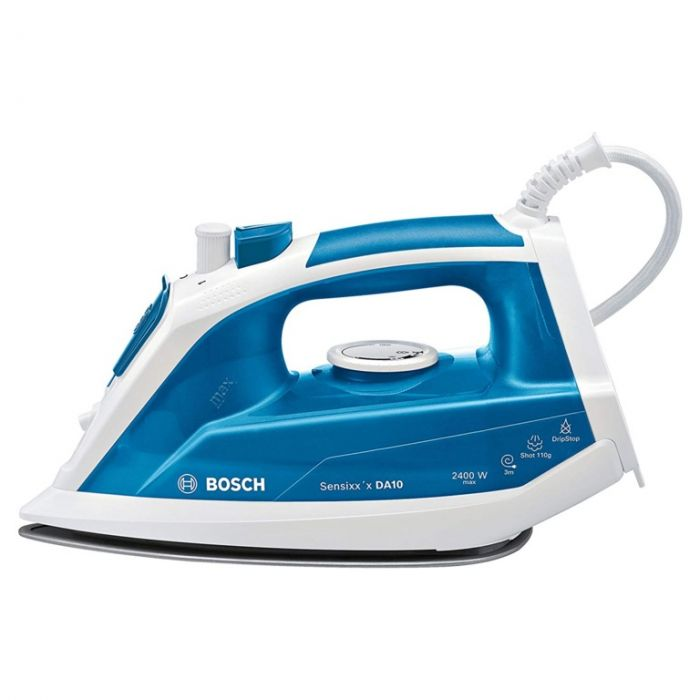 Bosch 2400w Sensixx Iron White & Blue