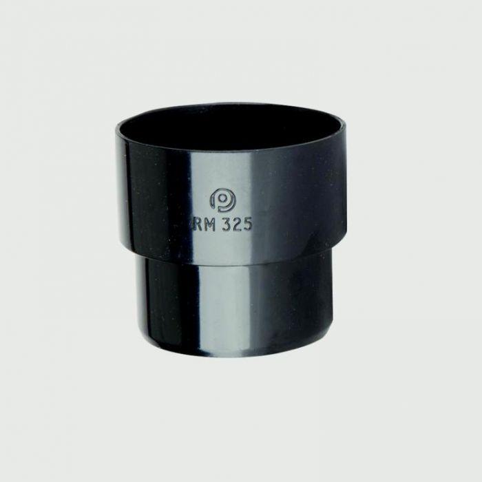 Polypipe Mini Downpipe Connector 50mm Black
