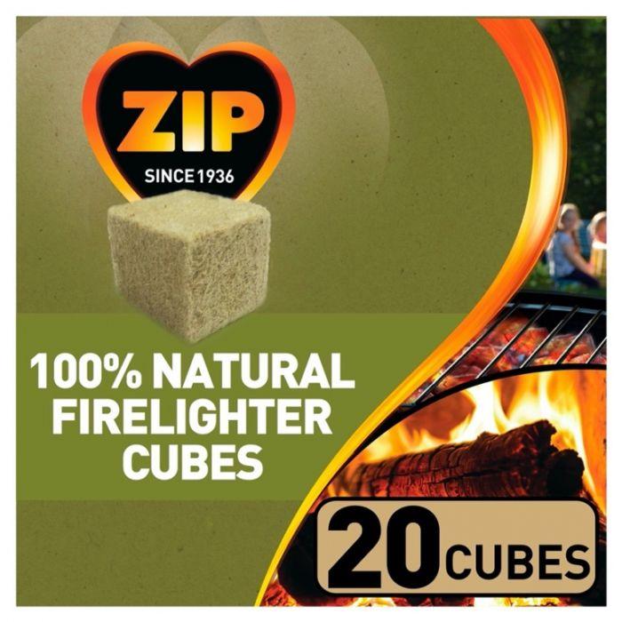 Zip 100% Natural Firelighter Cubes 20 Cubes