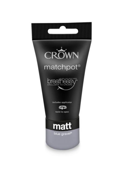 Crown Matt Emulsion 40ml Blue Gravel