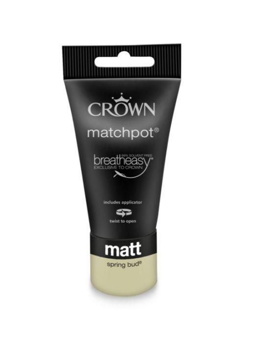 Crown Matt Emulsion 40ml Spring Bud