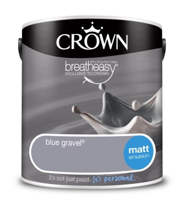 Crown Matt Emulsion 2.5L Blue Gravel