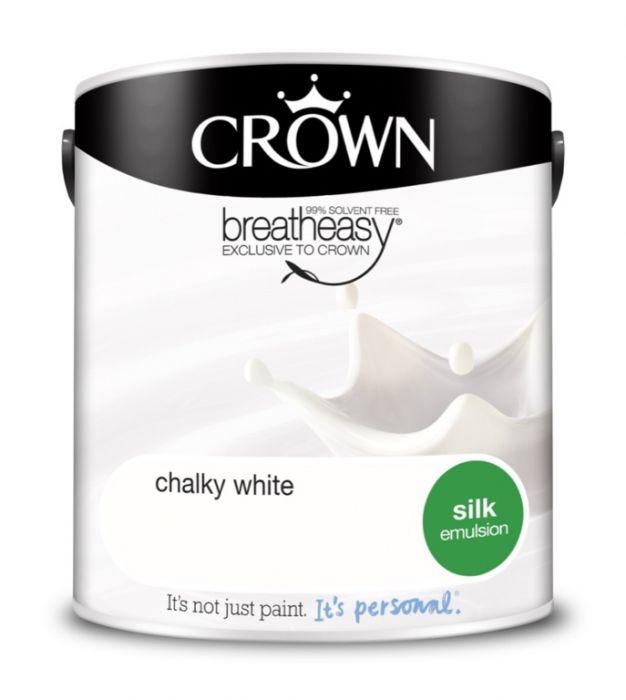 Crown Silk Emulsion 2.5L Chalky White