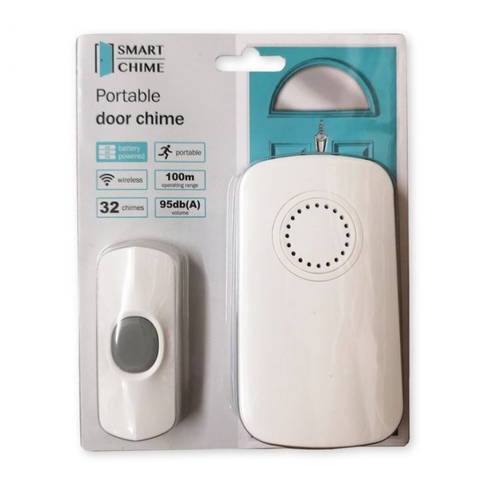 Uni-Com Smart Chime Portable Door Chime