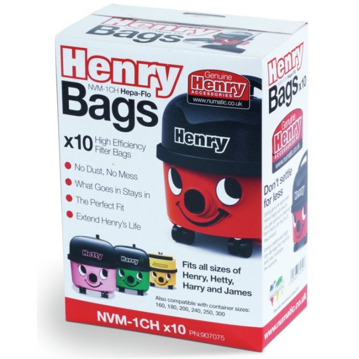 Numatic NVM - 1CH Henry 10pk Cleaner Bags
