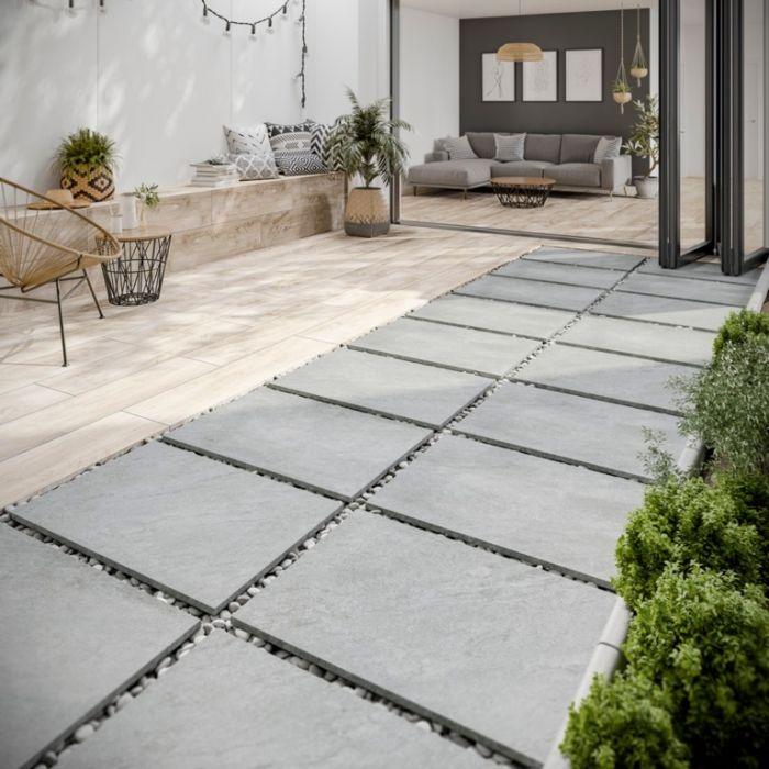 Verona Lodge Natural Outdoor Tile 300 x 1200 x 20mm 0.72m2