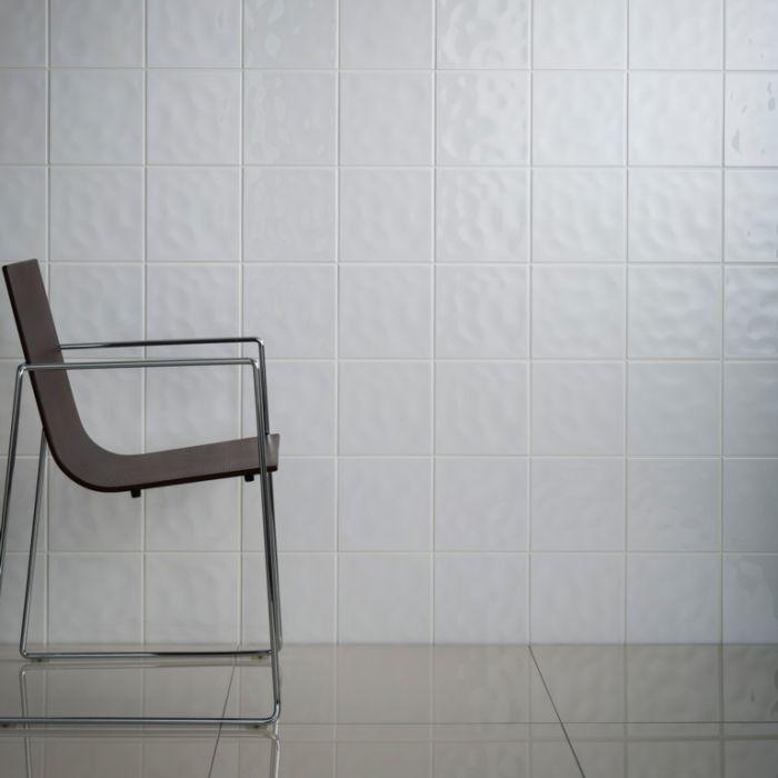 Johnson Tiles Cristal White Wall Tile 150 X 150