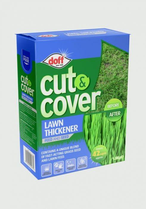 Doff Cut & Cover Lawn Thickener 1.5Kg