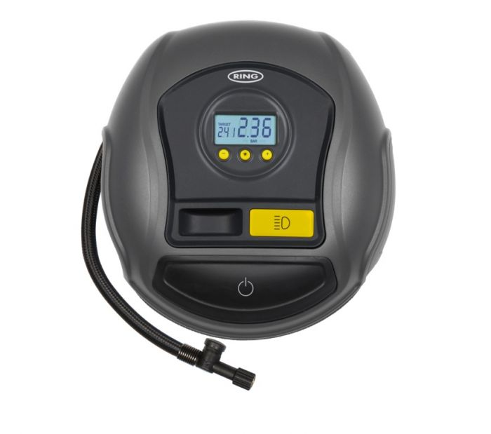 Ring Digital Tyre Inflator With Auto Stop