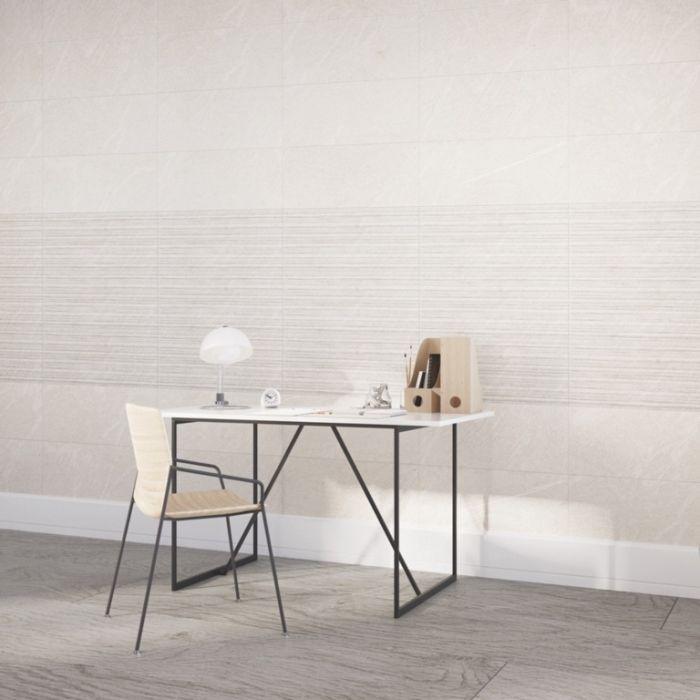 Verona Bexley Marfil Linear Wall Floor Tile 300 X 600 1.44M2