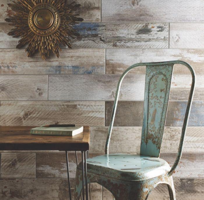 Verona Urban Reclaimed Wood Glazed Wall Floor Tile 150 X 600 1.08M2