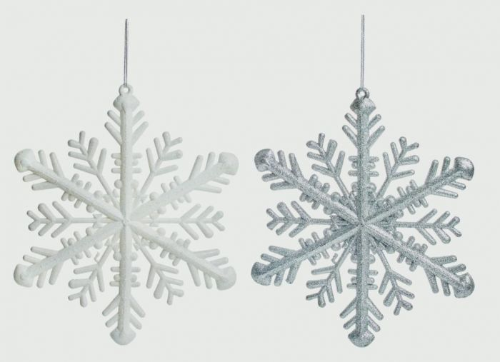 Glitter Snowflake 30Cm