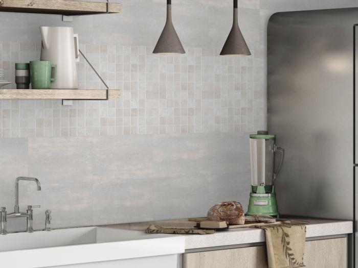 Halcon Pr Corum Ceramic Wall Tile 250 X 400Mm 1.50M2 Gris Matt