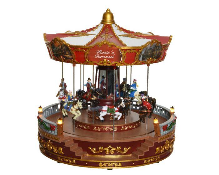 Led Christmas Carousel