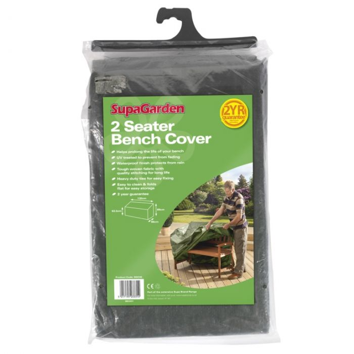 Supagarden Bench Cover 2 Seater 132Cm X 89Cm X 66Cm X 63.5Cm