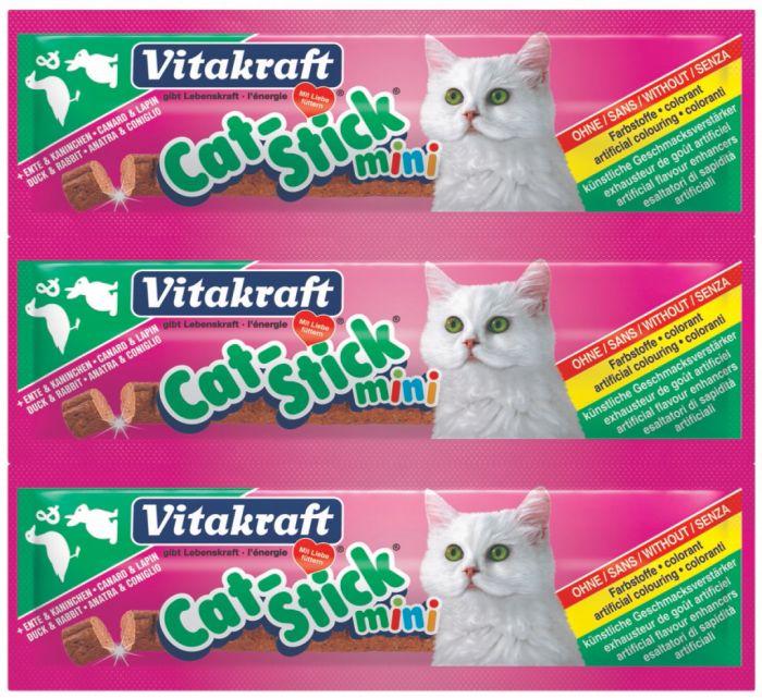 Vitakraft Mini Cat Stick Duck & Rabbit