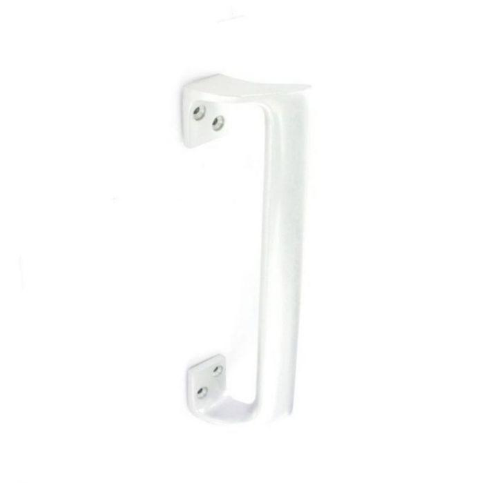 Securit Aluminium Oval Grip Pull Handle Bright 300Mm