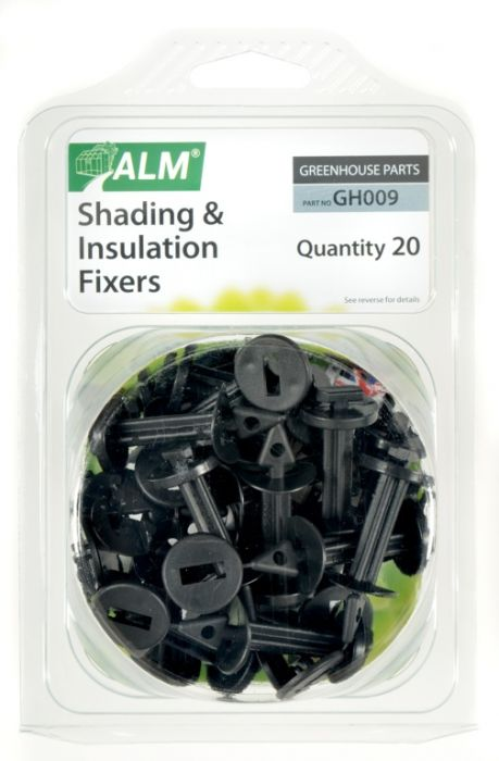 Alm Shading & Insulation Fixers Pack Of 20