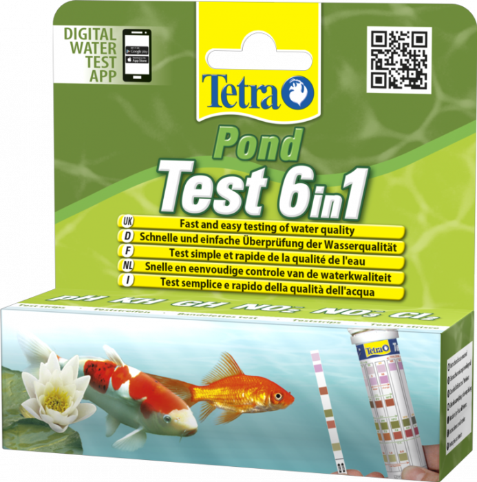 Tetra Pond Quick Test 6 In 1 25 Tests
