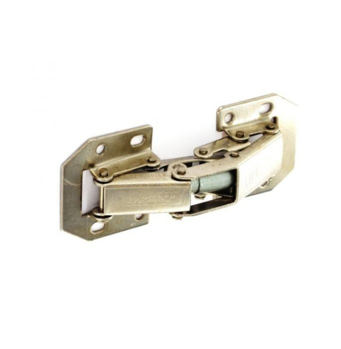 Securit Easy-On Hinges Sprung Zinc Plated (Pair) 105Mm