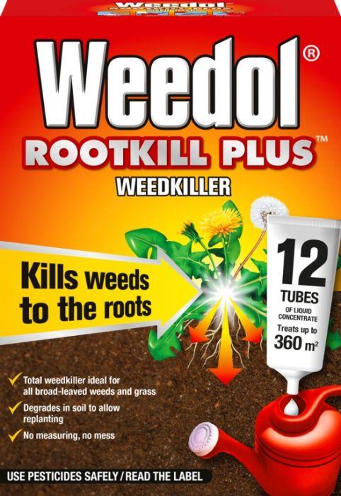 Weedol Rootkill Plus Liquidose 12 Sachets