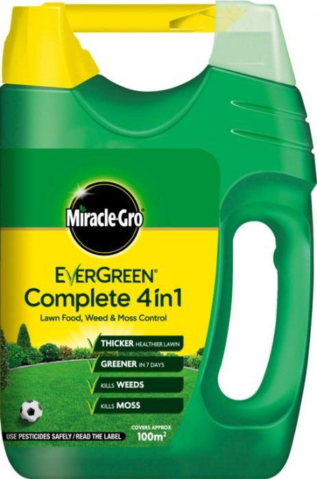 Miracle-Gro Evergreen Complete 4 In 1 100M2 Spreader