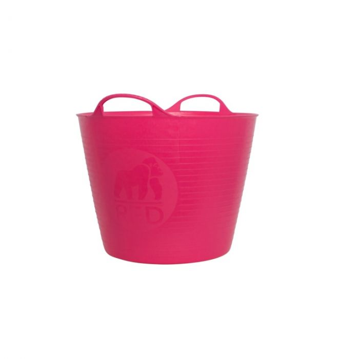 Red Gorilla Flexible Small Tub Pink