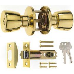 Era Entrance Lock Set Brass