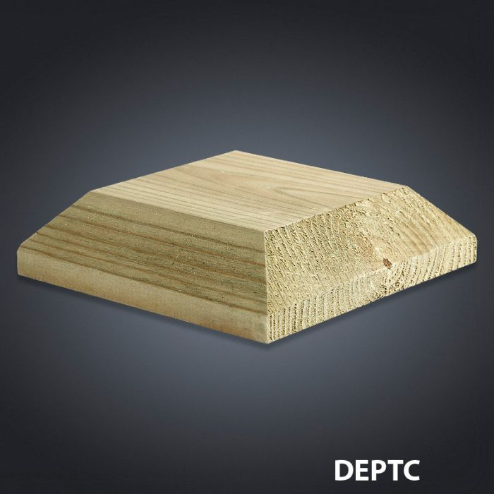 Cheshire Mouldings Decking Patrice Cap 110Mm