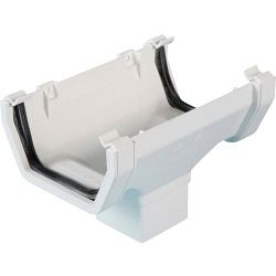 Polypipe Running Outlet White