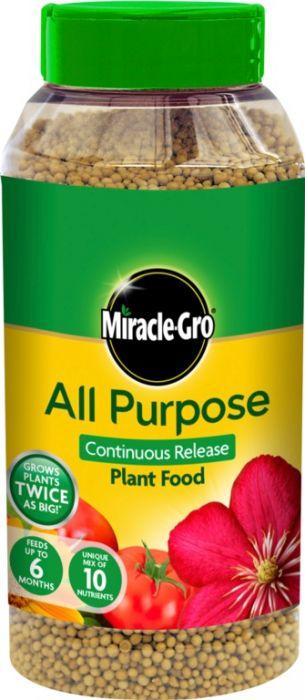 Miracle-Gro Slow Release All Purpose Plant Food 1Kg Shaker Jar