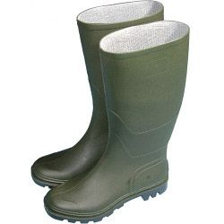 Town & Country Essentials Full Length Wellington Boots - Green Uk Size 7 - Euro Size 40/41