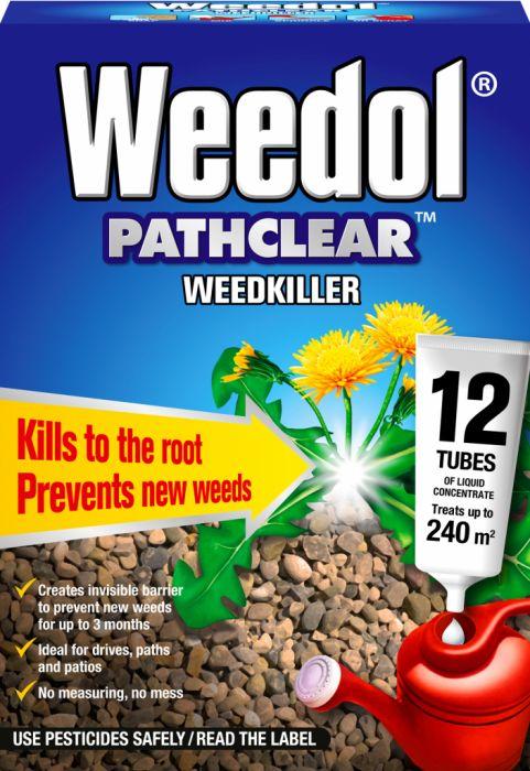 Weedol Pathclear Weedkiller 12 Tubes