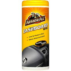 Armor All Dashboard Wipes Gloss Finish - Pack Of 25