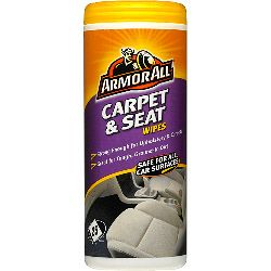 Armor All Carpet & Seat Wipes Pack Of 25