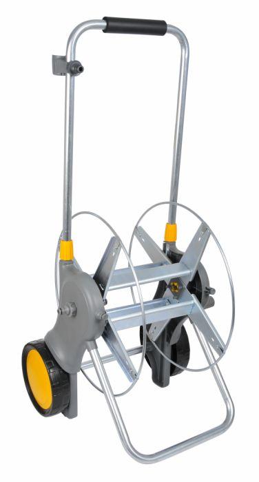 Hozelock Assembled Metal Hose Cart 90M