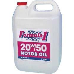 Formula1 20W-50 Motor Oil 1 Gallon