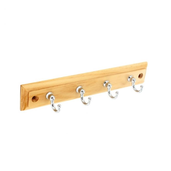 Securit 4 Cp Hooks On Plaque 220Mm