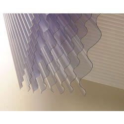 Vistalux Lightweight Clear Corrugated Pvc 3 X 30 X 8Ft (2440Mm)