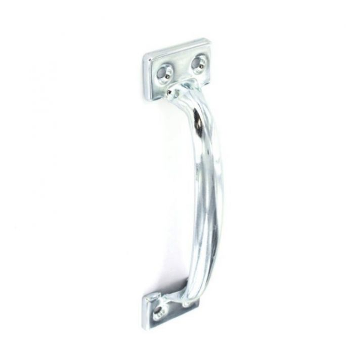 Securit Pull Handle Zinc Plated 200Mm