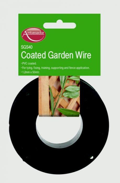 Ambassador Pvc Coated Wire 1.2Mm X 100M