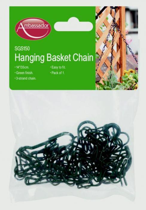 Ambassador Hanging Basket Chain 14 Green