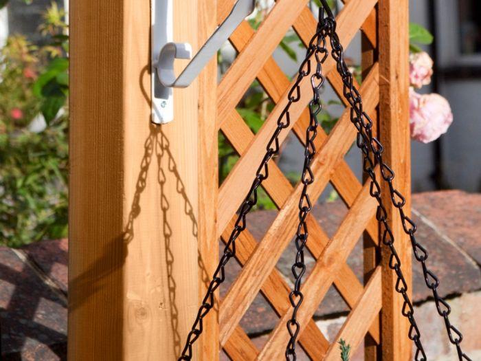 Ambassador Hanging Basket Chain 18 Black