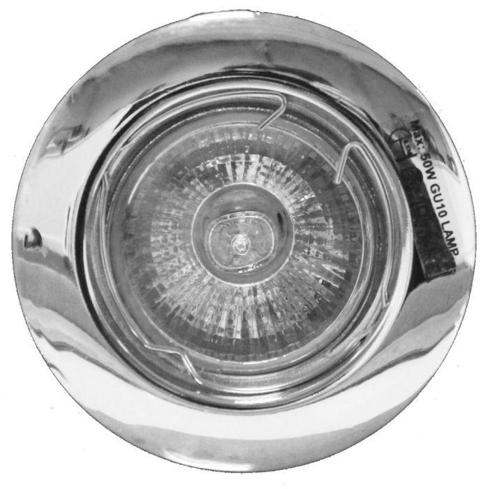 Powermaster 3 Pack Fixed Gu10 Downlights Chrome